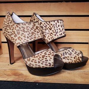 "🐆  ""Helara2"" Animal Print Platform Heels 🐆"